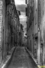 rue en enfilade